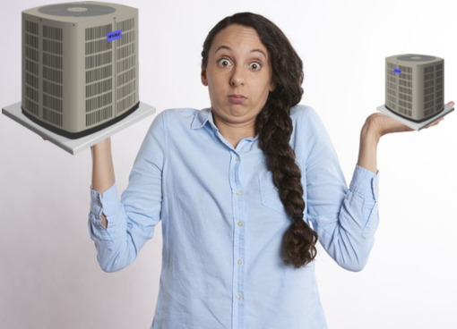 Wrong Size AC Unit